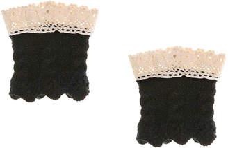 Me Moi MeMoi Crochet Toddler & Youth Boot Cuffs - Girl's