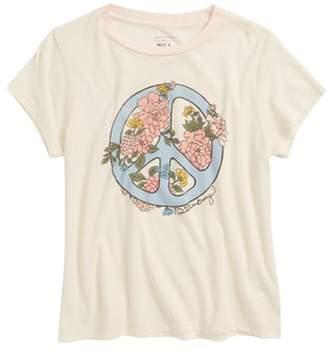 Billabong Peace Fleur Graphic T-Shirt