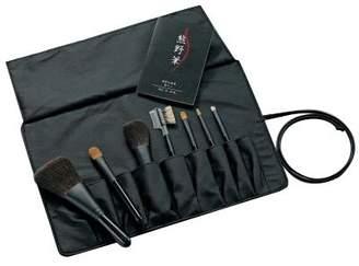 ゼニス 熊野化粧筆セット 筆の心 ブラシ専用ケース付き