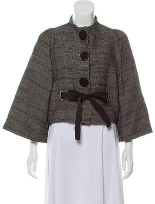 Philosophy di Alberta Ferretti Cropped Tweed Jacket