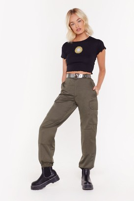 Nasty Gal After Party Vintage Survivor Utility Pants