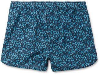 Derek Rose Printed Cotton Boxer Shorts