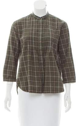 Rag & Bone Plaid Button-Up Shirt