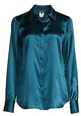 Lafayette 148 New York Women's Semira Silk Blouse