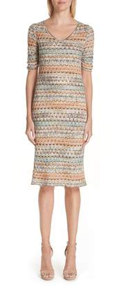 Missoni Open Knit Sweater Dress