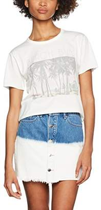Juicy Couture Women's Beach Bum T-Shirt,8 (Manufacturer Size:Small)