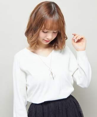 INGNI (イング) - イング 【春の新作】スティックサークルロングネックレス