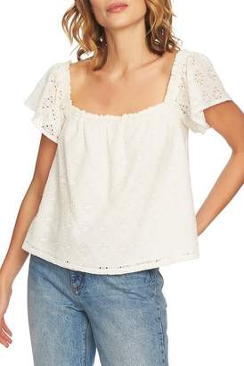 1 STATE 1.State Embroidered Blouse