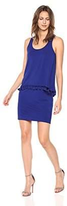Trina Turk Women's Richmond Tasseled Popover Dress