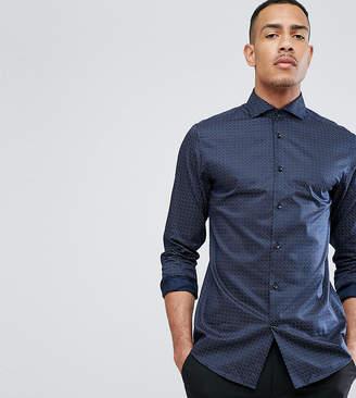 Selected Regular Shirt With Cutaway Collar