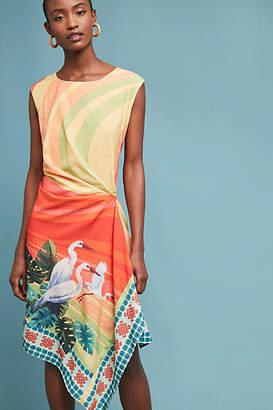 Eva Franco Vibrant Bird Dress