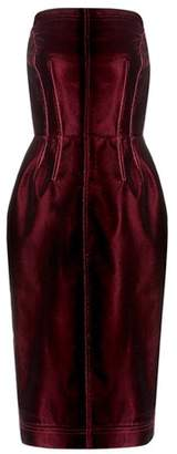 Tom Ford Velvet strapless dress