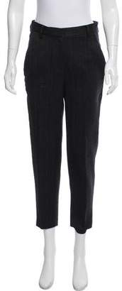 Donna Karan Mid-Rise Pinstripe Pants w/ Tags