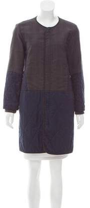 Marni Wool-Blend Quilted Coat