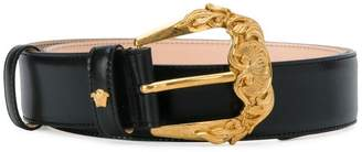 Versace baroque buckle belt