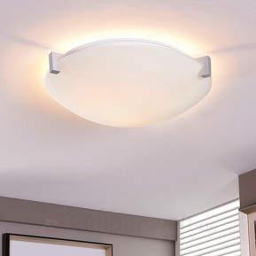 Fabrice - Glas-Deckenlampe mit E27-LED-Lampe