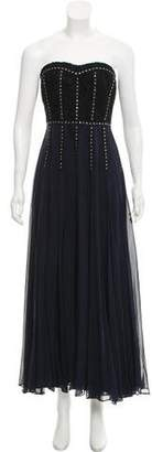 Rebecca Taylor Embellished Silk Dress