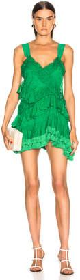 Alexis Lakshmi Dress in Emerald Green | FWRD