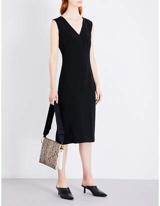Joseph Dana tailored-fit crepe dress
