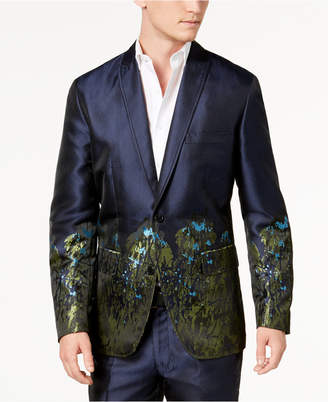 INC International Concepts I.n.c. Men's Slim-Fit Peacock Blazer, Created for Macy's