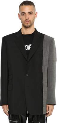 Maison Margiela Single Breasted Mohair & Wool Jacket