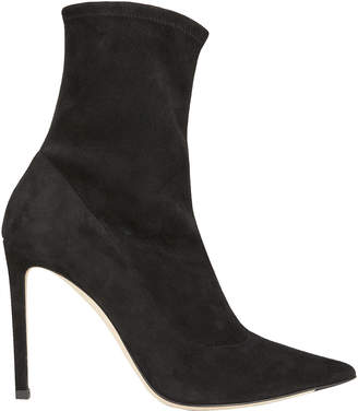 Jimmy Choo Brin Suede Sock Booties