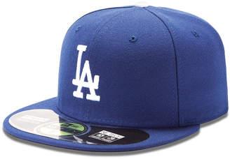 New Era (ニュー エラ) - New Era Mlb Hat, Los Angeles Dodgers On-Field 59FIFTY Fitted Baseball Cap