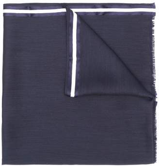 Valentino frayed scarf