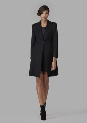 Giorgio Armani Pure Cashmere Single-Breasted Coat