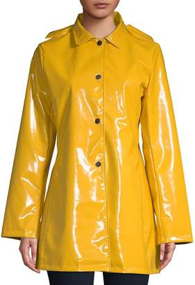 Jane Post Women's Princess Hooded Raincoat