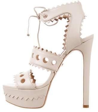 Ruthie Davis Jennifer Leather Sandals w/ Tags