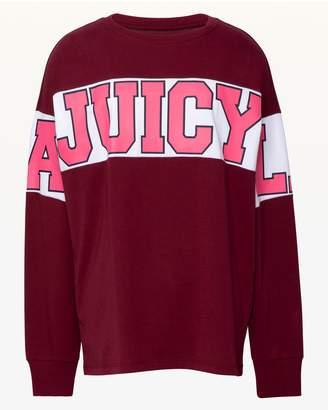Juicy Couture JXJC Juicy LA Colorblock Long Sleeve Tee