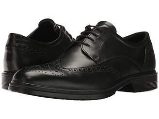 Ecco Lisbon Brogue Tie Men's Plain Toe Shoes