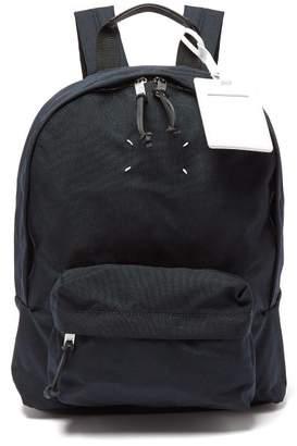 Maison Margiela Stereotype Canvas Backpack - Mens - Navy