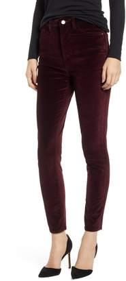 DL1961 Chrissy Ultra High Waist Velveteen Ankle Skinny Jeans