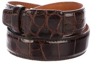 Calvin Klein Alligator Waist Belt