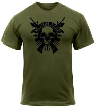 Rothco Molon Labe Skull T-Shirt - , 3X-Large
