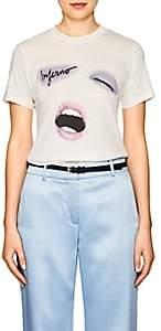 "Monogram Women's ""Inferno"" Cotton Jersey T-Shirt - Cream"