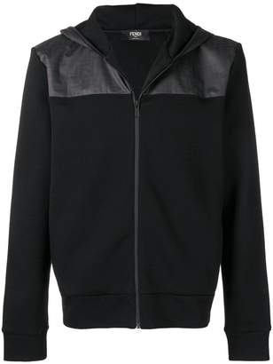 Fendi zipped hooded jacket