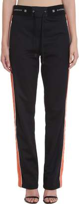 Givenchy Velvet Stripe Side Jogger Pants