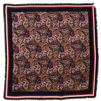 Cacharel Wool Square Scarf
