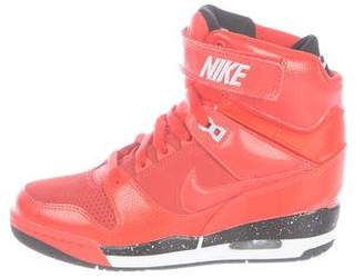 Nike Leather Wedge Sneakers