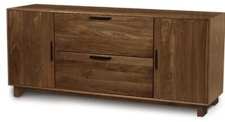 Copeland Furniture Linear Office Storage 2-Drawer Lateral Filing Cabinet Copeland Furniture