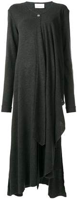 Lemaire asymmetric knit dress