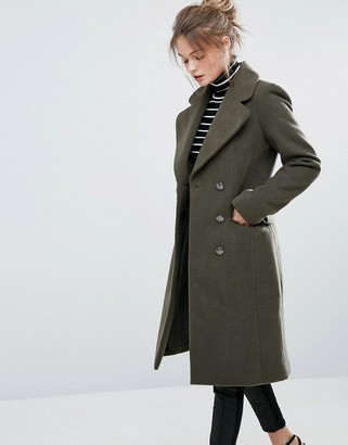 Oasis Military Coat $151 thestylecure.com