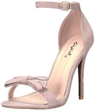 Qupid Women's Ara-245 Dress Sandal
