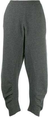 Stella McCartney gathered track pants