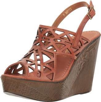 Very Volatile Women's Screen Wedge Sandal