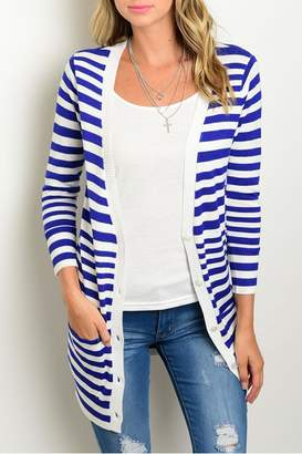 Tcec Royal Stripes Cardigan