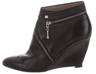 Belle by Sigerson Morrison Pointed-Toe Wedge Booties